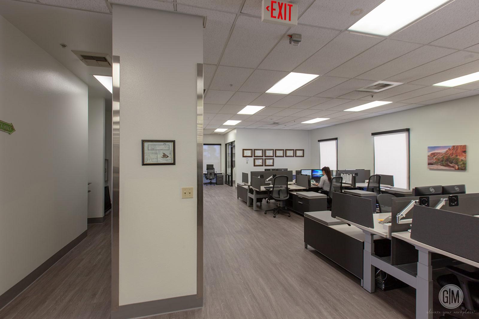 COSB Coroner's Office Hallway Makeover