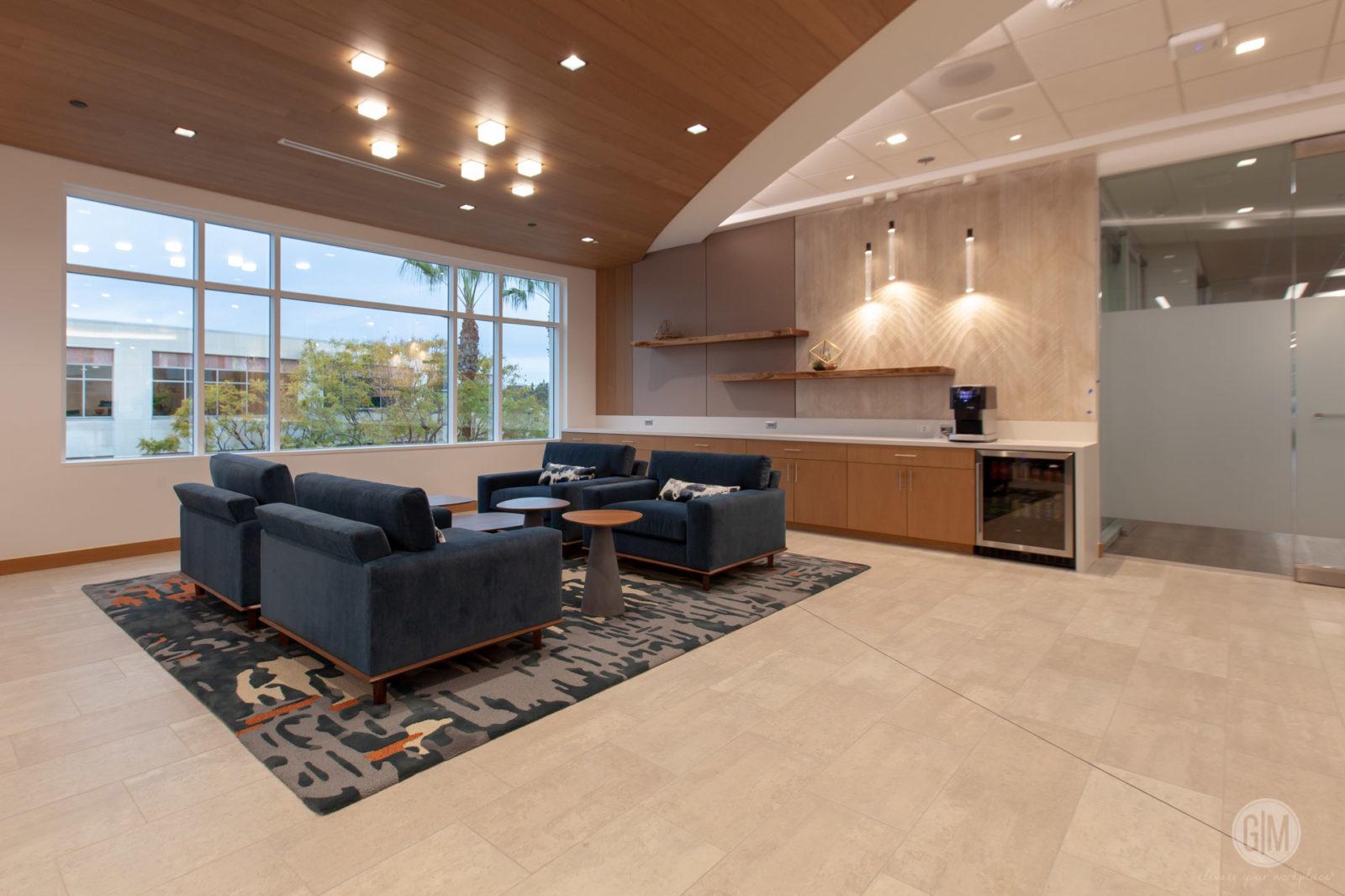 Perkins Coie San Diego Waiting Area