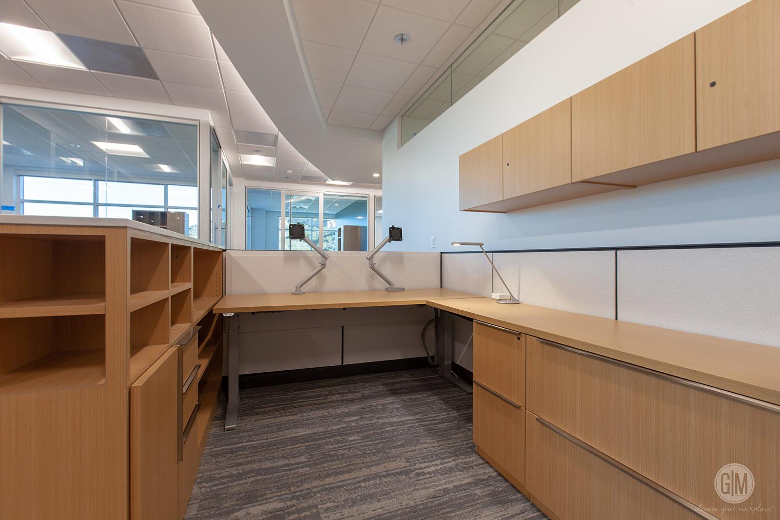 Perkins Coie San Diego Desk Area